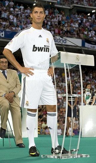 Cristiano Ronaldo Height