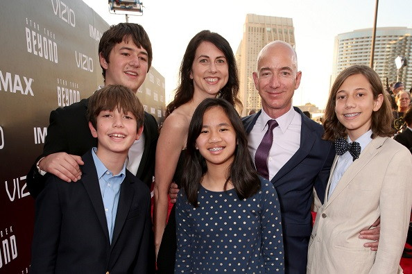 Jeff Bezos Children