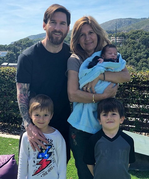 Lionel Messi Children